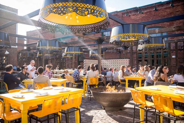 The best restaurant patios in Toronto are places where the outdoor ambience is as much as draw as the stellar offerings from the kitchen. These are places where the food-minded flock to dine in full sun and sip beer, wine or cocktails under starlight. Here are the best restaurant patios...