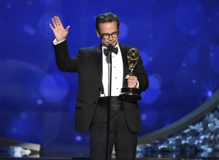 """Peter Scolari wins an Emmy for his guest role on """"Girls"""". He was originally not nominated in the category but was a last minute substitute when Peter MacNicol (Veep) was disqualified for being in too many episodes to qualify as a """"guest"""". http://ift.tt/2cfUFkg"""