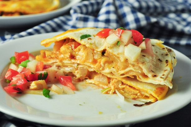 + ideas about Healthy Chicken Quesadillas on Pinterest | Quesadillas ...