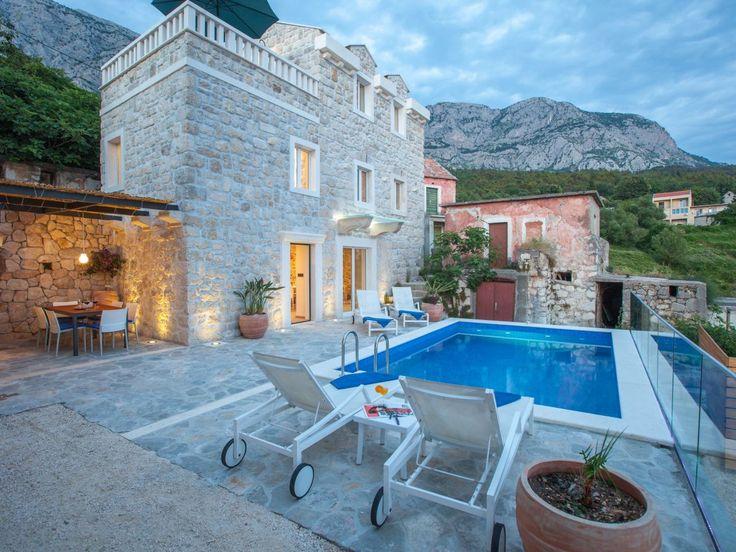 Ferienhaus Dolce Vita in Tucepi mit Pool Ferienhaus