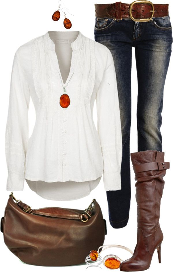 """""""Amber Jewelry"""" by angela-windsor on Polyvore love It all! got have those boots!!!!!"""