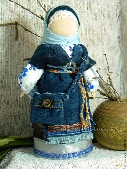 Кукла-оберег Успешница На Удачу. Русские народные куклы - интерьерная кукла