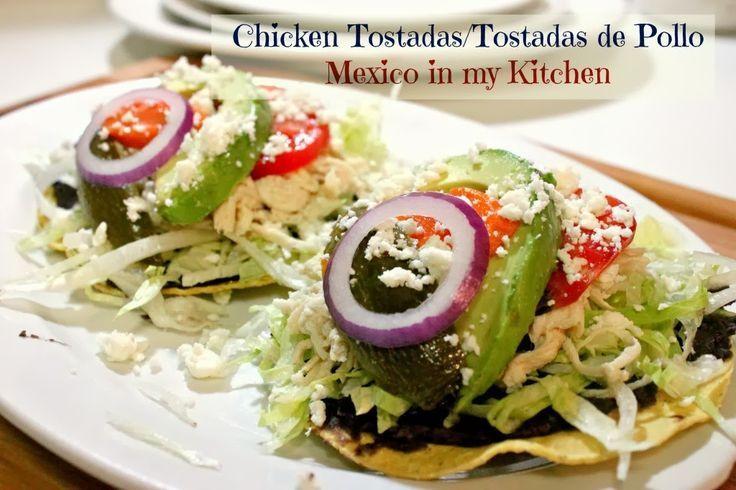 Mexico in my Kitchen: Beef Tostadas: a Comfort Food / Receta de Tostadas de Carne Deshebrada|Authentic Mexican Food Recipes Traditional Blog #mexicanrecipes #mexicancuisine #beef