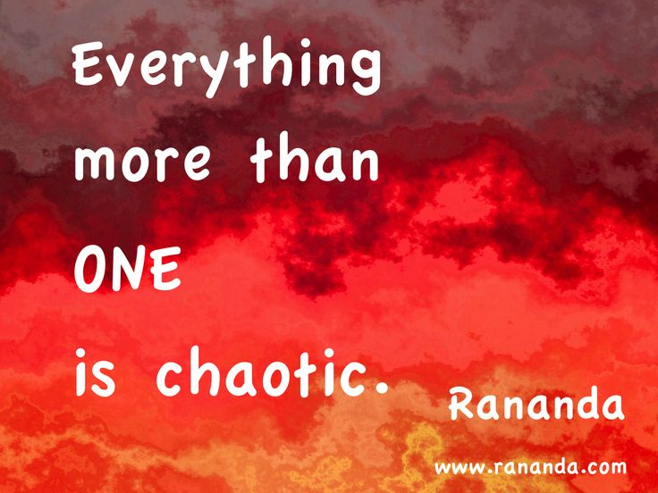 Everything more than one is chaotic 2