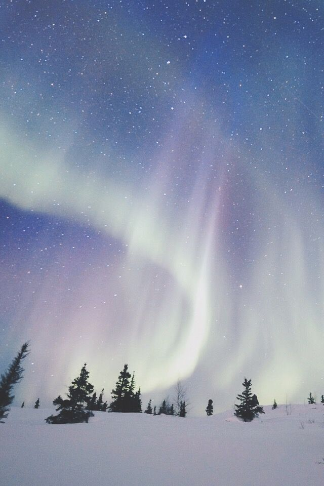 The breathtaking colors of the Northern Lights