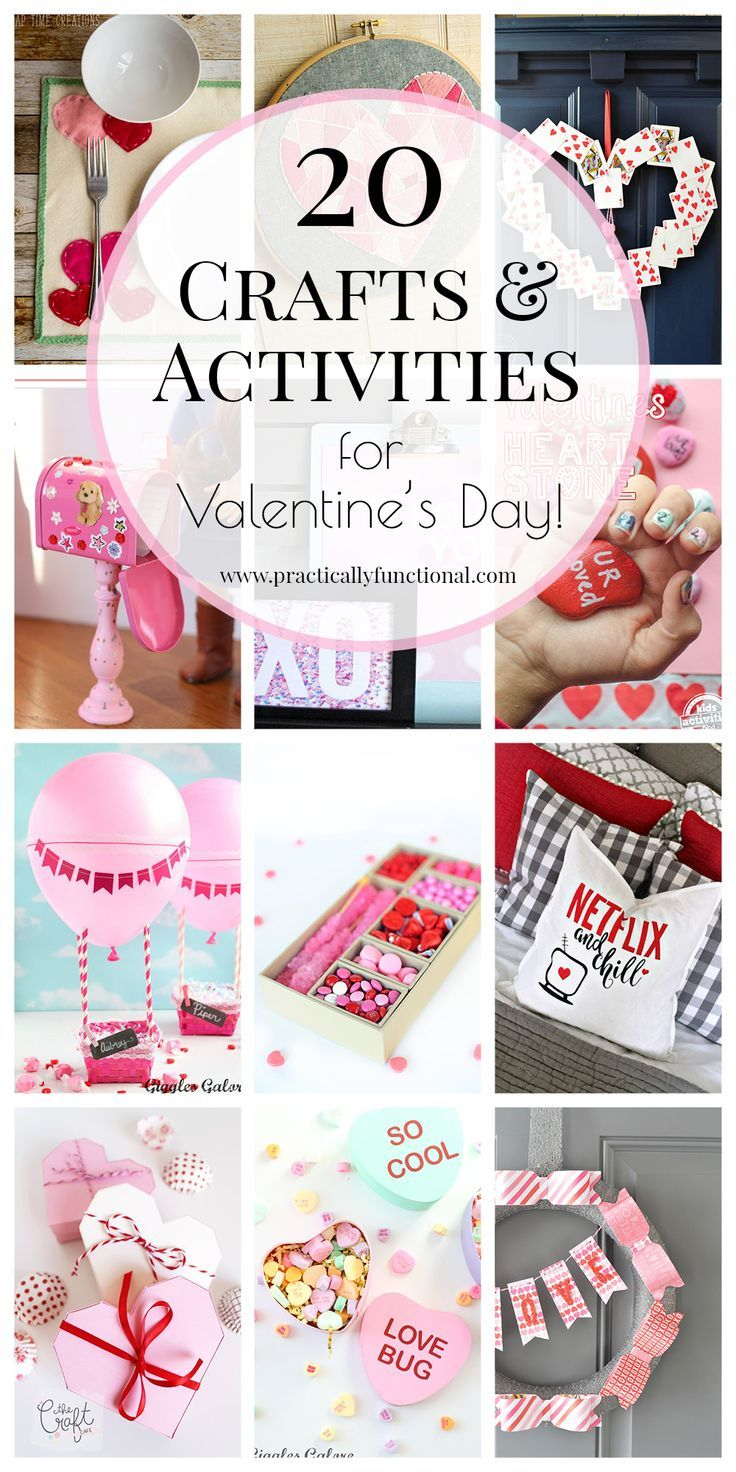 20 fun valentines crafts activities