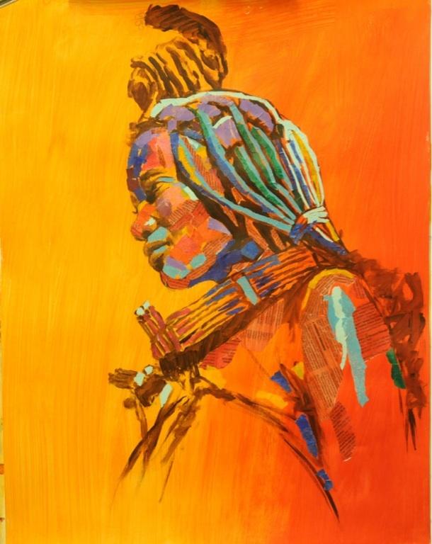 African Collage. By Rika De Klerk