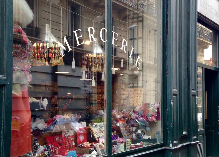 Exceptionnel Bonnes Adresses Paris Shopping #14: Ultramod-Paris Mercerie 3 Et 4 Rue De Choiseul Paris 2ème.