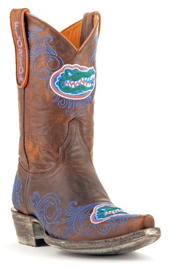 Florida Gator cowgirl boots