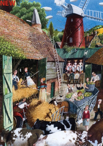 Richard Adams. The red mill 2011