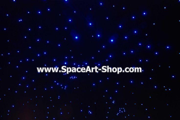 Cer instelat fibra optica  www.SpaceArt-Shop.com
