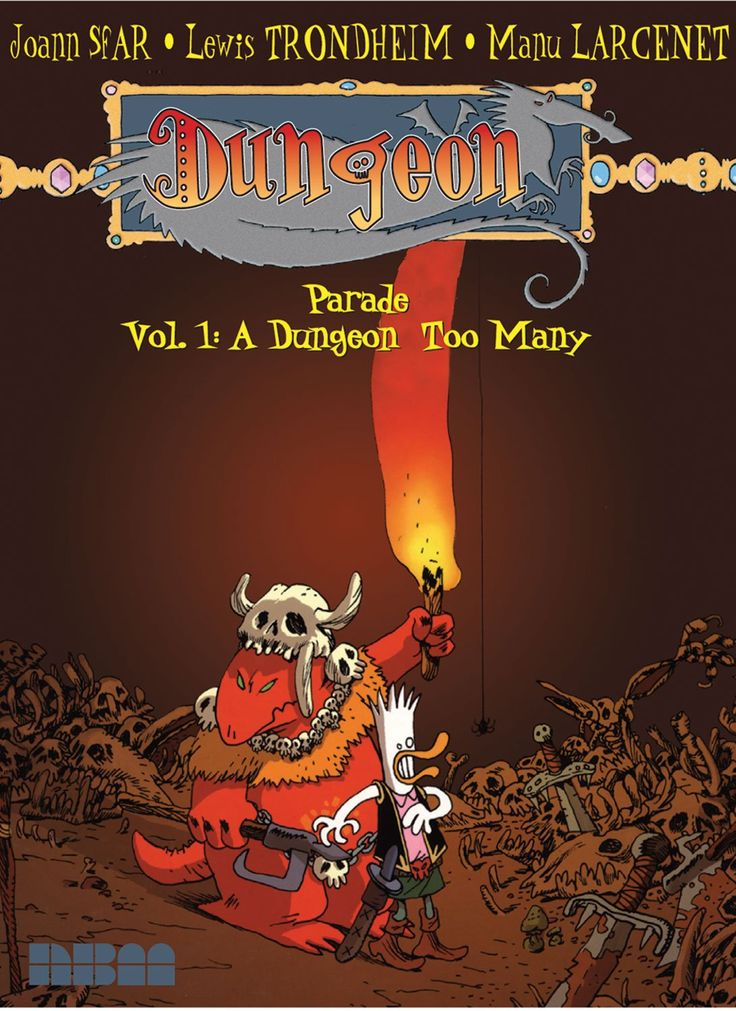The Dungeon Series by Trondheim and Sfarr - Lust for Life keeps the wheels spinning, ensuring I'll return to this series whenever I get the opportunity. In the meantime, I'd urge anyone who hasn't read this angry, insightful series to give it a try. It just may become your next guilty pleasure. Or un-guilty pleasure. Highly recommended.