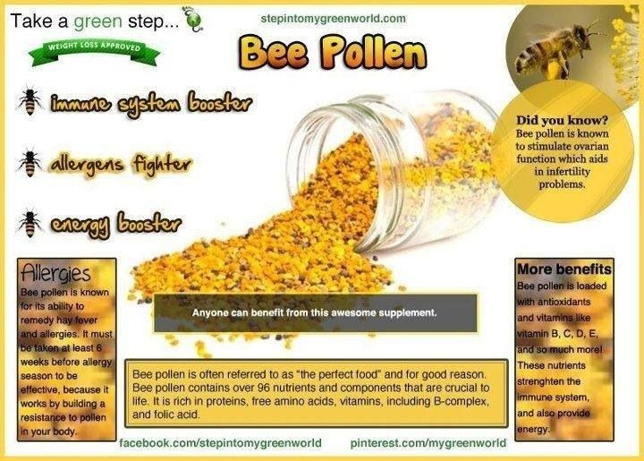 Forever Bee Pollen Contains Trace Amounts Of Easily Absorbed Vitamins C, D, E, K, Beta Carotene  (Vitamin A), B Complex, Minerals, Enzymes, Co-enzymes. Plant-source Fatty Acids Carbohydrates, Proteins And 22 Amino Acids Including All 8 Essential Acids. A Boost To Energy  And Stamina. Forever Bee Pollen Can Assist In Maintaining A Healthy Circulatory Digestive Immune And Nervous System (Clean 9 Only www.emmaandrews.myforever.biz/store