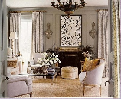 gray/tan/cream--love the mixed metals of silver and gold
