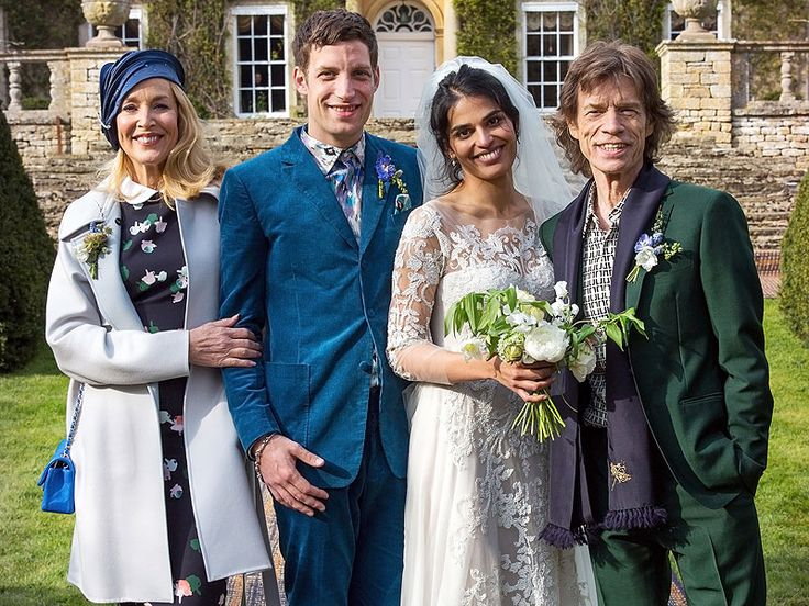 Mick Jagger and Jerry Hall (and New Husband Rupert Murdoch) Attend Son James' Wedding Celebration, Months After Secret Ceremony