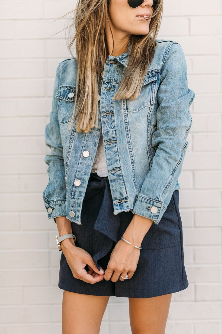Denim Jacket Look, A Great Layer To Add For Summer