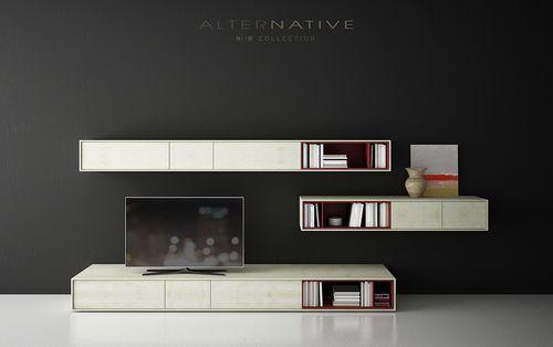 Mueble comedor tv de dise o minimalista now 3 for Comedor minimalista
