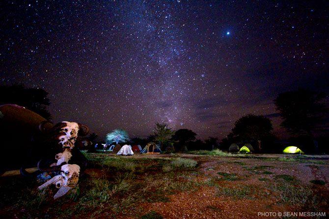 Sean Messham stunning night pic of the Serengeti