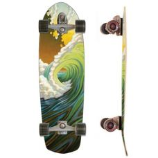 34' Carver C7 Green room Surf Skate #wishlist