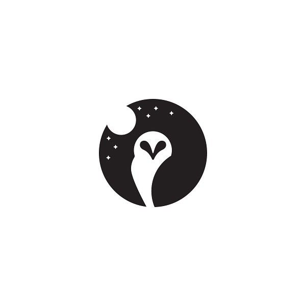 Image result for owl moon logo                                                                                                                                                                                 More