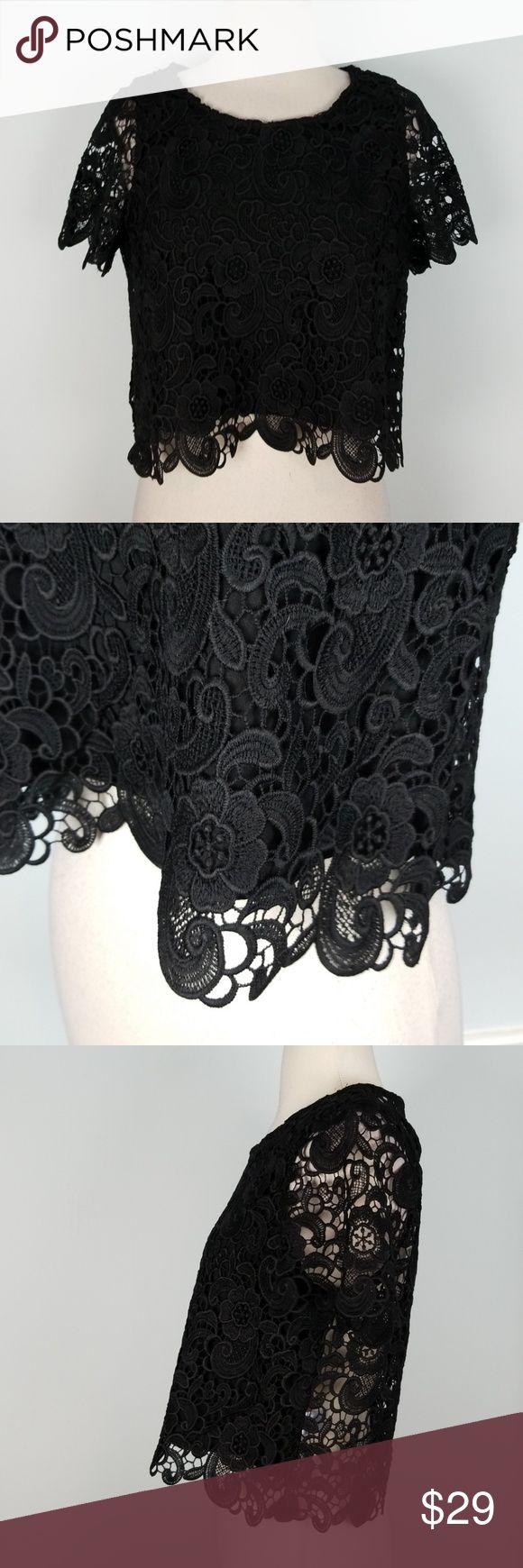 De Philo lace crop top 🐪 Excellent condition de philo Tops