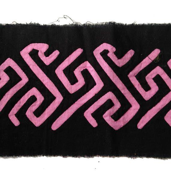 Fabric Supplies. Reverse Applique Long Band