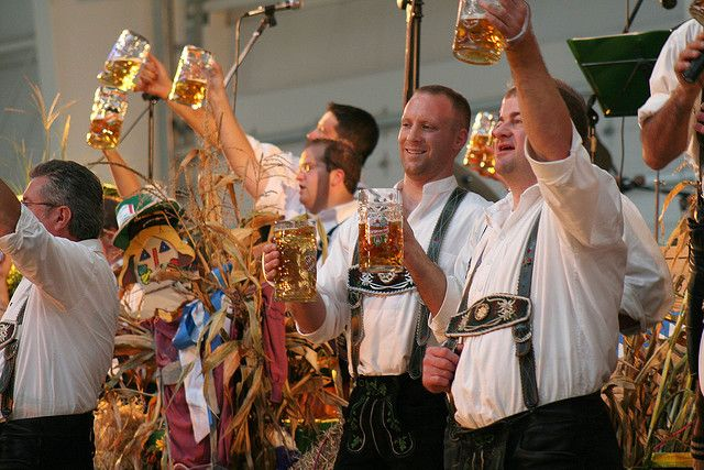 Kitchener-Waterloo Oktoberfest:    For 9 days in October, Kitchener-Waterloo is home to North Americas biggest and best Bavarian festival! Enjoy an evening of German food, beer & dancing!        Visit www.oktoberferfest.ca for more details!
