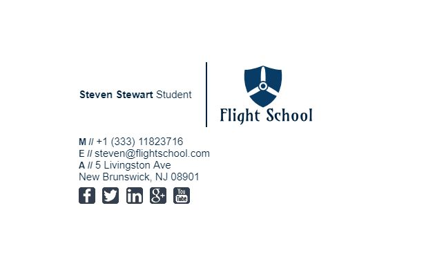 Best Student Email Signature Examples Images On   Email