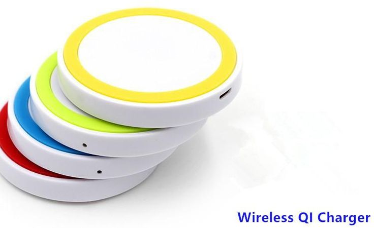 A+ Mini size portable Round circle Qi Wireless Charger Power Pad for Nokia Nexus Samsung Galaxy S3 S4 Note2 for iPhone