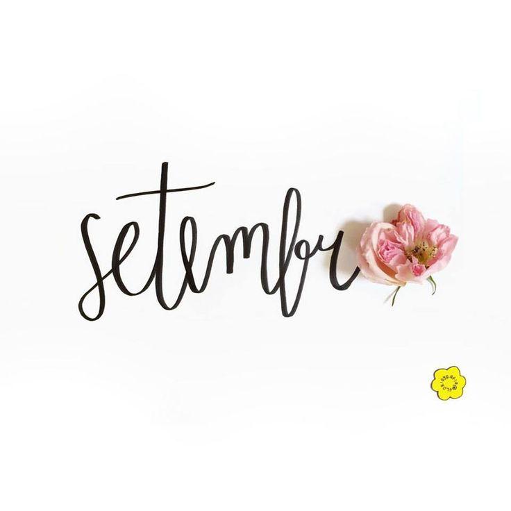 Bienvenido septiembre...Bem-vindo setembro...Welcome September...by Floriografia... www.brasilchic.net