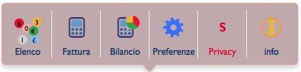 """DoctorOffice3: il menù """"Economia"""""""
