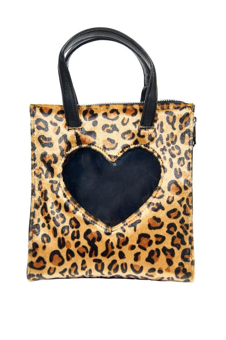Love Me Leopard Bag | Pinup Girl Clothing