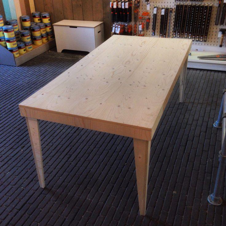 Wist u dat underlayment platen goed geschikt zijn om meubels van te maken uiteraard leveren wij - Maken van zijn boekenkast ...