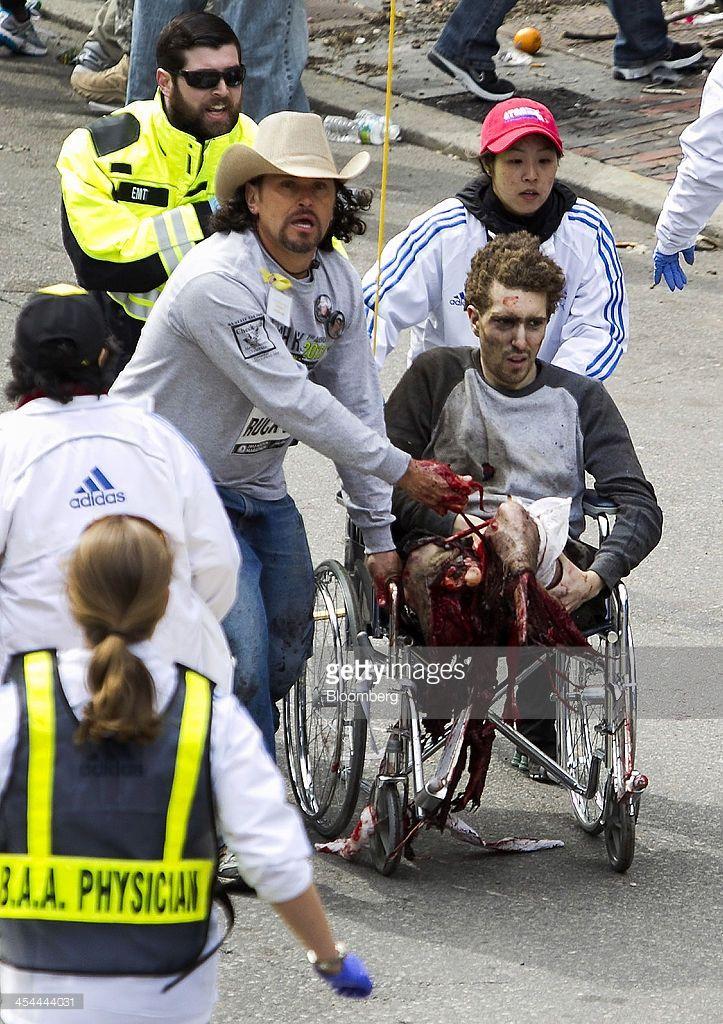 Bloomberg's Best Photos 2013: **EDITORS Boston Marathon Bombing Victim