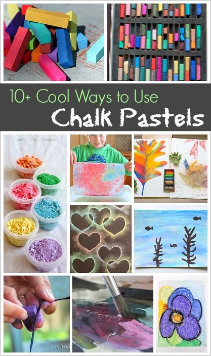 Art Projects and Activities for Kids: Over 10 Cool Ways to Use Oil Pastels for Creating!