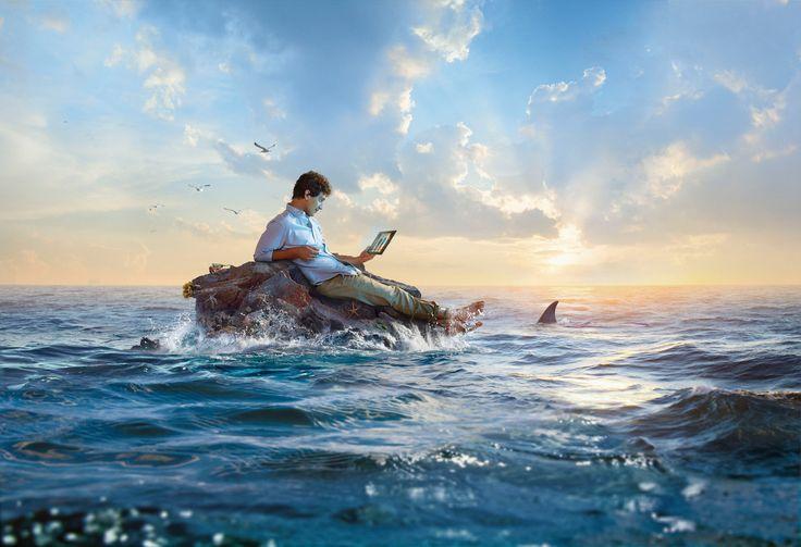 #photography #CGI #production #design #narrative #character #photo #cgi #sea #shark #ad