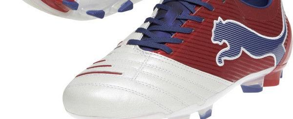 Las botas Puma que calza Cesc Fàbregas durante el Euro 2012