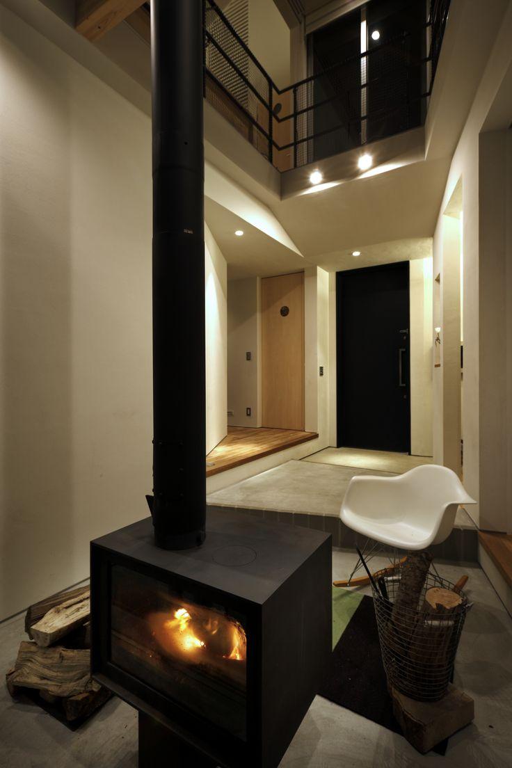 薪ストーブのある生活|吹き抜け|注文住宅・自由設計・建築家|アーキッシュギャラリー(東京・名古屋・大阪)