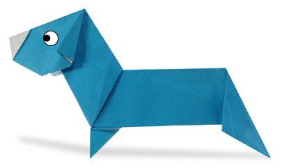 Origami dachshund2