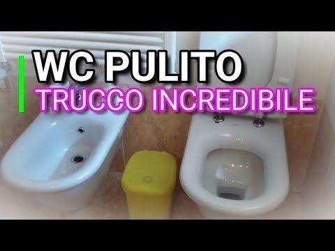 TRUCCO INCREDIBILE, COME PULIRE IL WC CON IL BICARBONATO ACETO, MARLINDA CANONICO - YouTube
