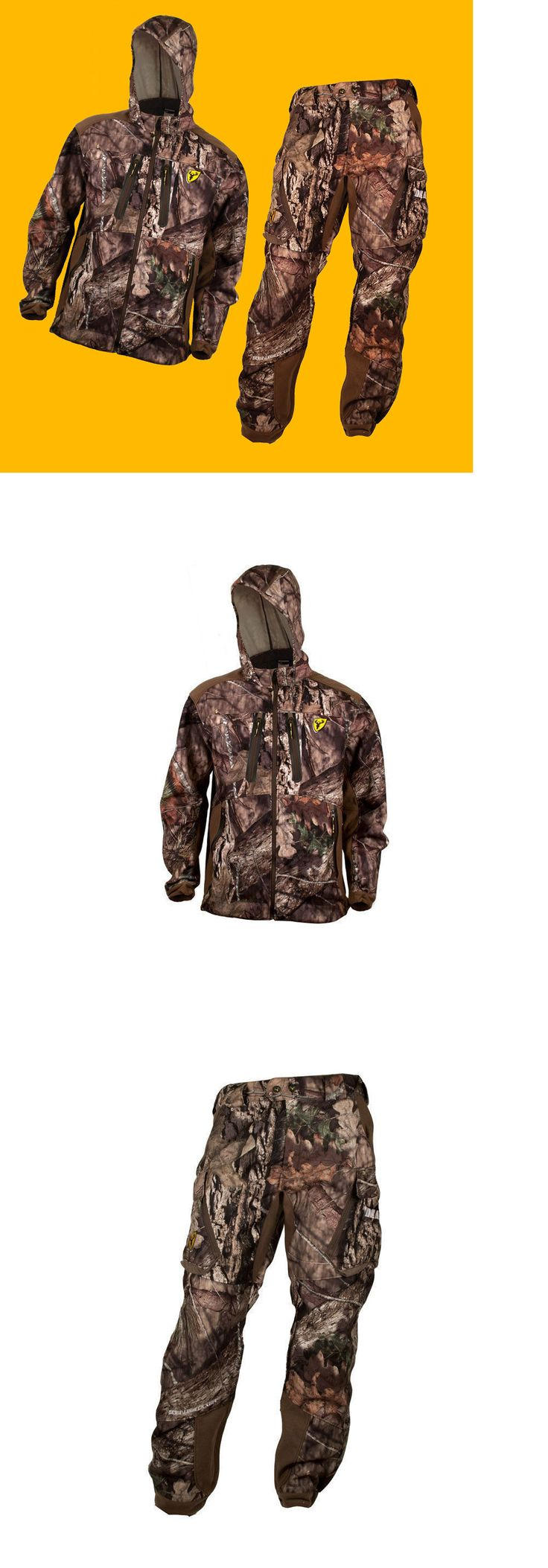 Jacket and Pant Sets 177872: Scentblocker Dead Quiet Jacket And Pants Suit Mossy Oak Country Camo - Mens Xl -> BUY IT NOW ONLY: $159.99 on eBay!