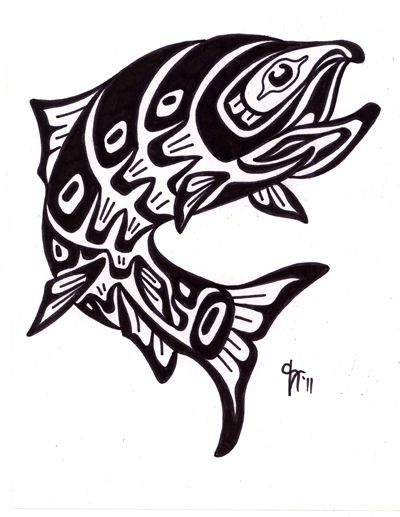 Google Image Result for http://www.kcangel.com/wp-content/uploads/2011/10/Pacific-Northwest-Indian-tribal-salmon-custom-tattoo-design.jpg