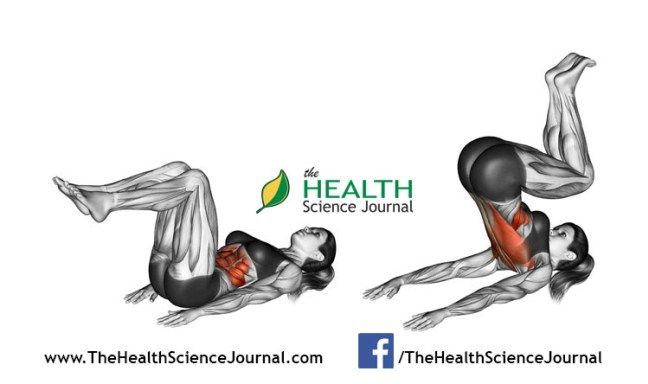 © Sasham | Dreamstime.com - Fitness exercising. Reverse Crunch. Female