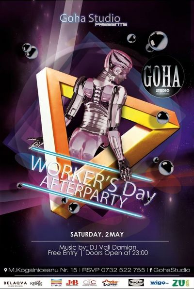 Worker's Day Afterparty @ Goha Studio Party