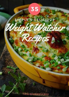 Are You Ready To Lose Up To 10 Pounds? If So Try This http://womensweightloss2016.blogspot.com/ - 35 Weight Watchers Recipes With Points That You Will Go Crazy For!