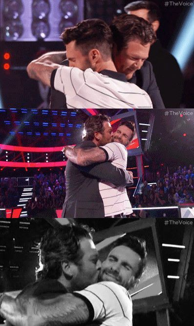 The Voice...Blake and Adam<3