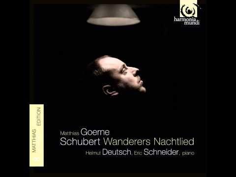 """""""Schubert: Wanderers Nachtlied, D.768"""" - Matthias Goerne & Eric Schneider - YouTube"""