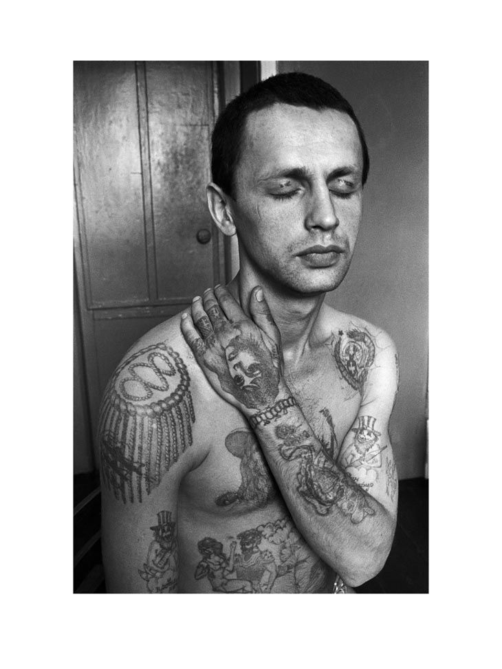 Sergei Vasiliev - Russian Criminal Tattoo Encyclopaedia Print No.9