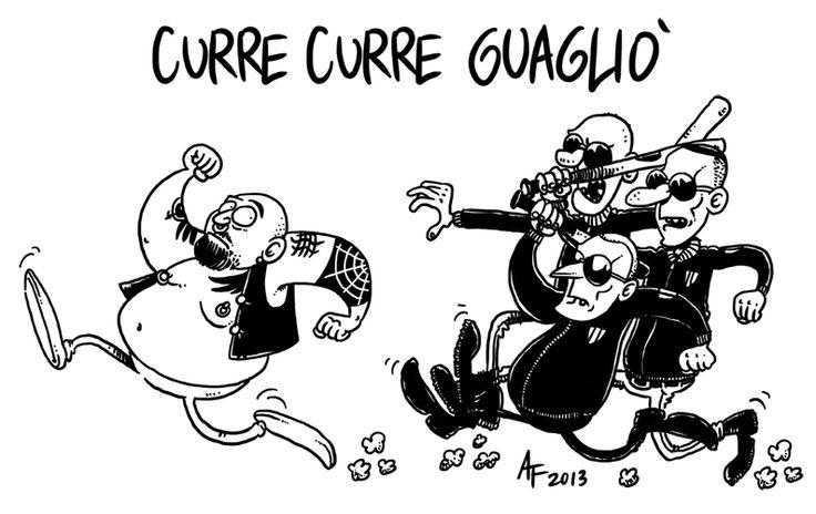 """Auguriamo tanti auguri di compleanno ad Antonio Fiorino, che abbiamo recensito e intervistato tempo fa per la nostra rubrica """"L'Arte degli Stolti"""". Ve lo riproponiamo per ammirare i suoi disegni e sorridere con la sua satira caustica! #arte #cultura #satira #fumetti #art #culture #comics #satire"""