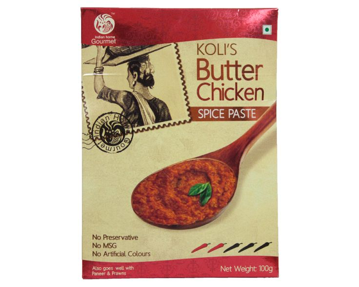 IHG Kolis Butter Chicken  $2.00